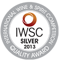 Silver Medal: International Wine & Spirits Competition 2013
