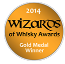 Gold Medal: Wizards of Whisky 2014